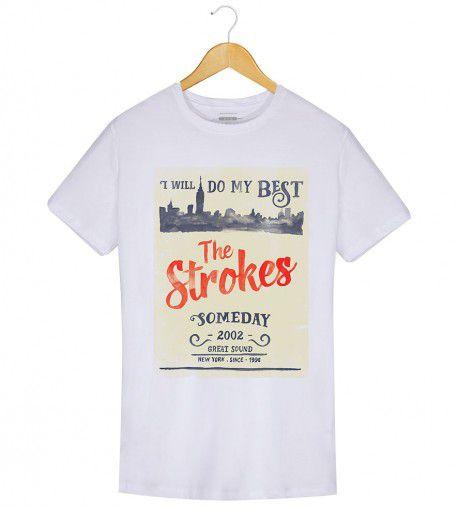 Camiseta - Someday - The Strokes - Masculino