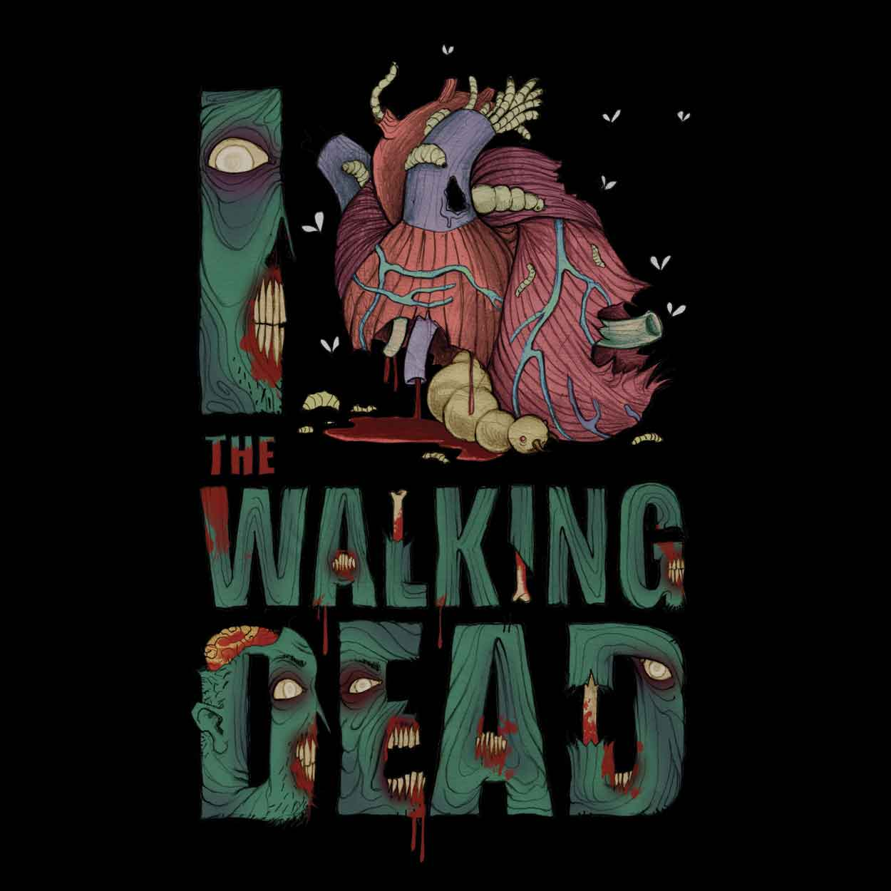 Camiseta The Walking Dead - Feminino