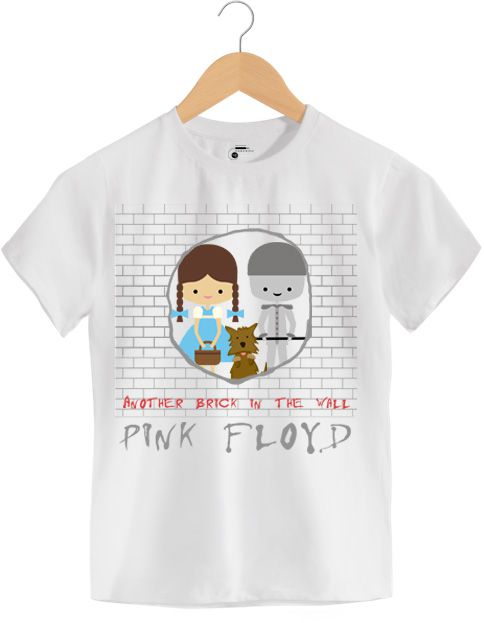 Camiseta - The Wall - Pink Floyd - Infantil