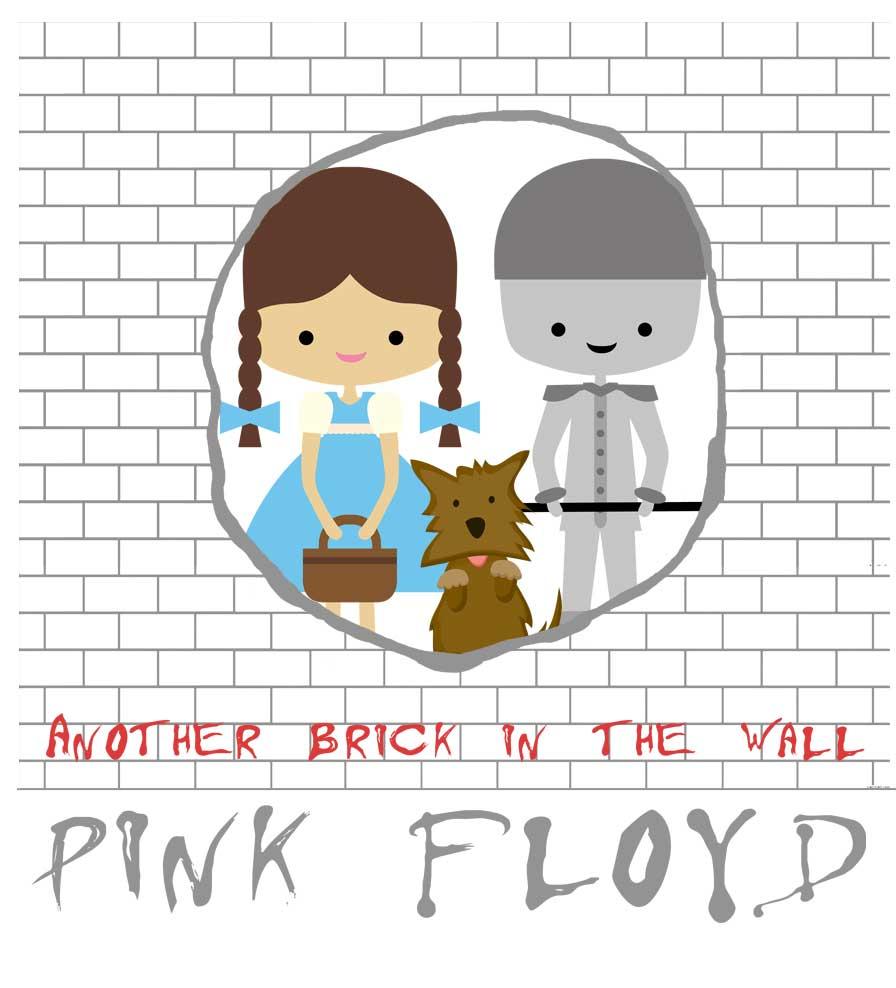 Camiseta - The Wall - Pink Floyd - Infantil