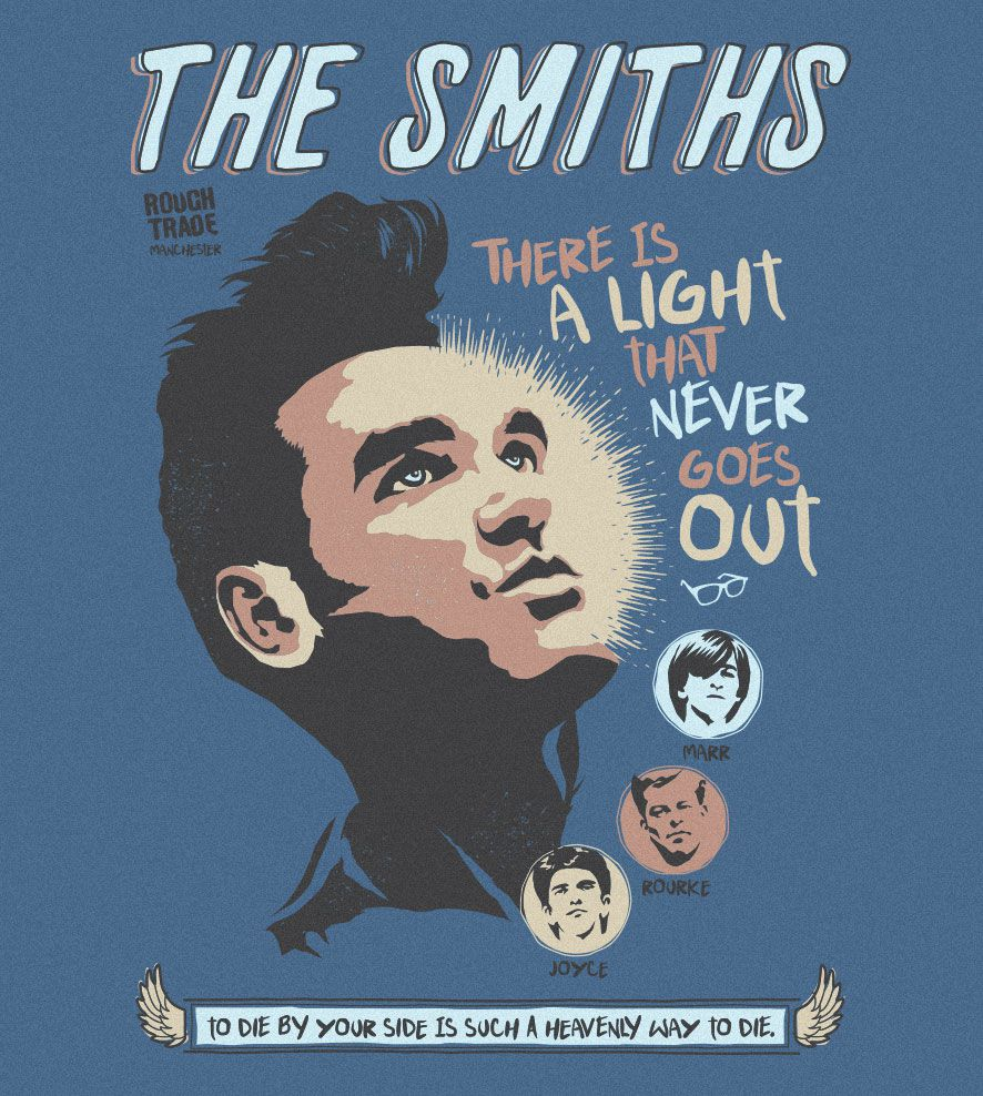 Camiseta - There Is A Light - The Smiths - Feminino