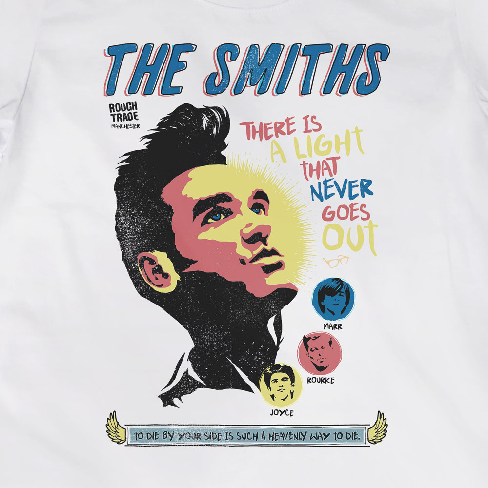 Camiseta There is a Light - The Smiths - Feminino