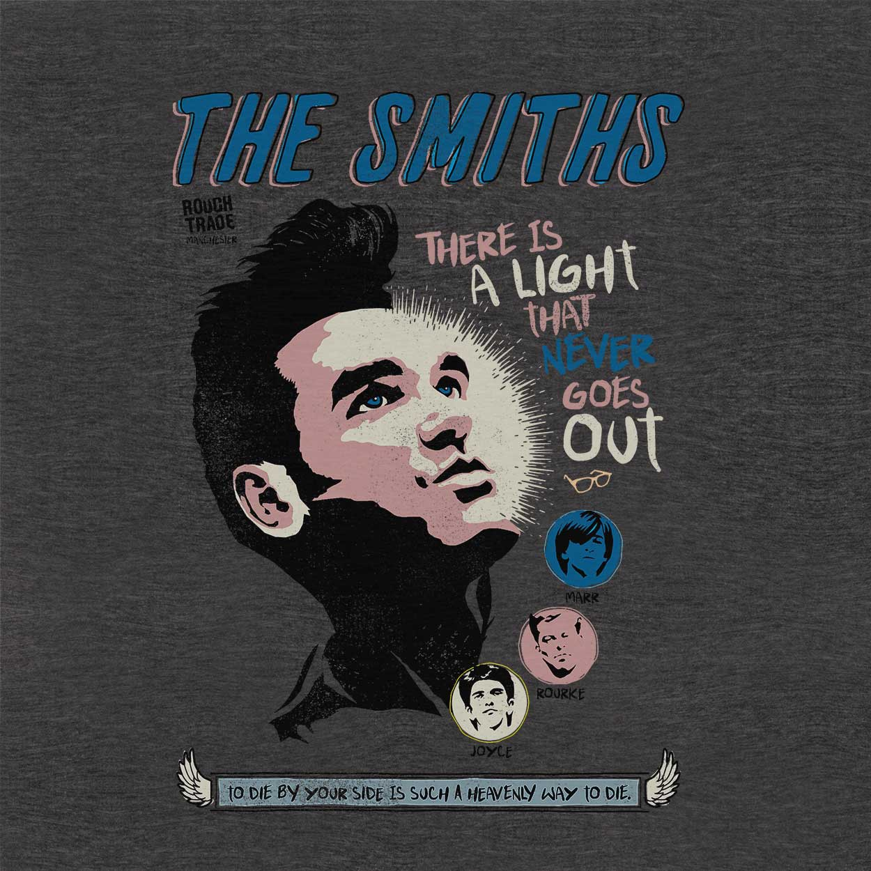 Camiseta There is a Light - The Smiths - Masculino