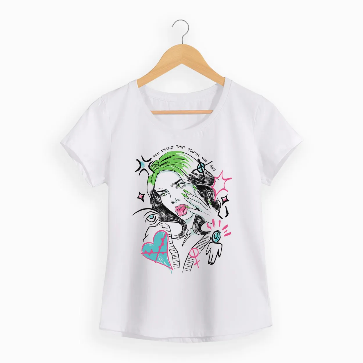Camiseta -  Therefore I Am - Billie Eilish - Feminino