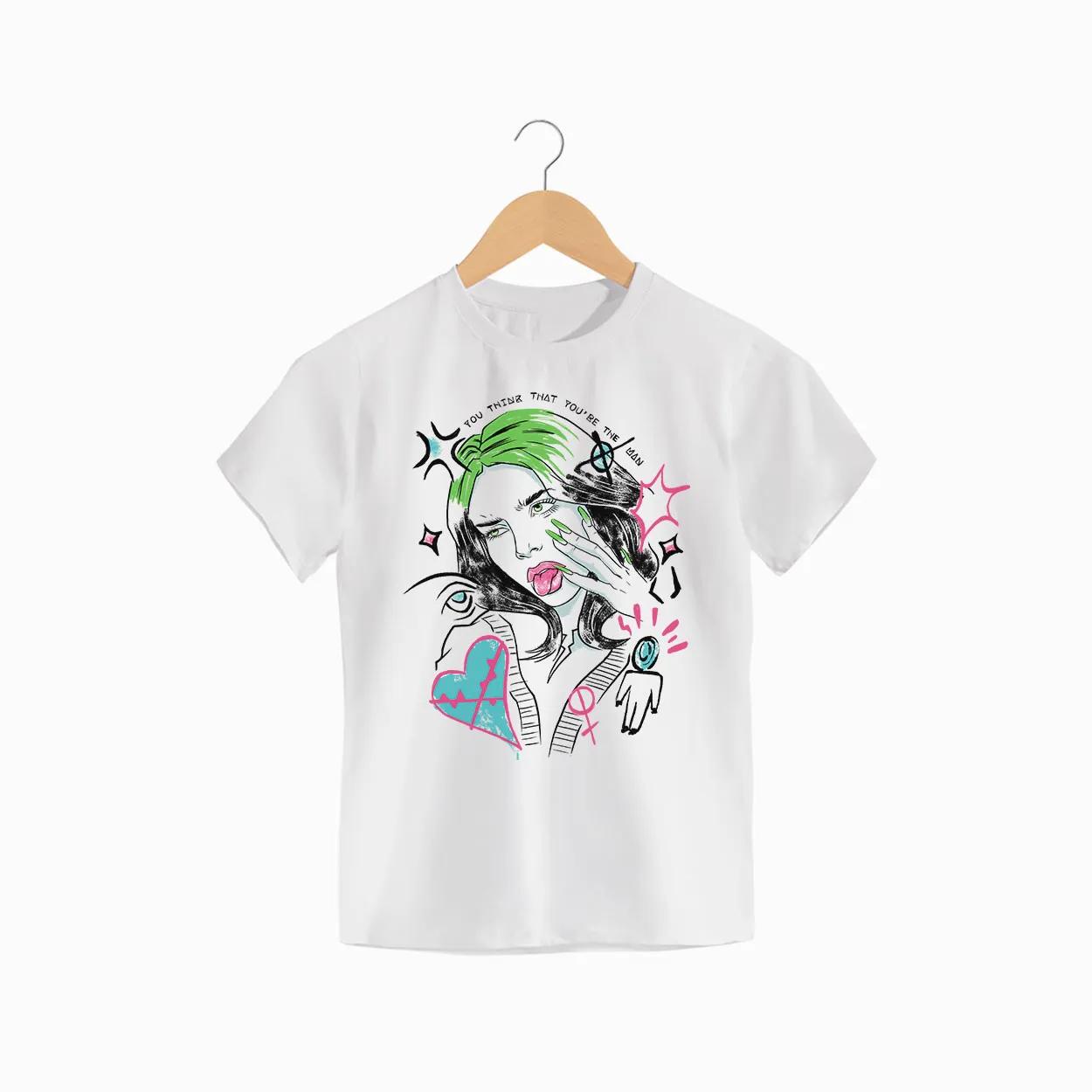 Camiseta -  Therefore I Am - Billie Eilish - Infantil