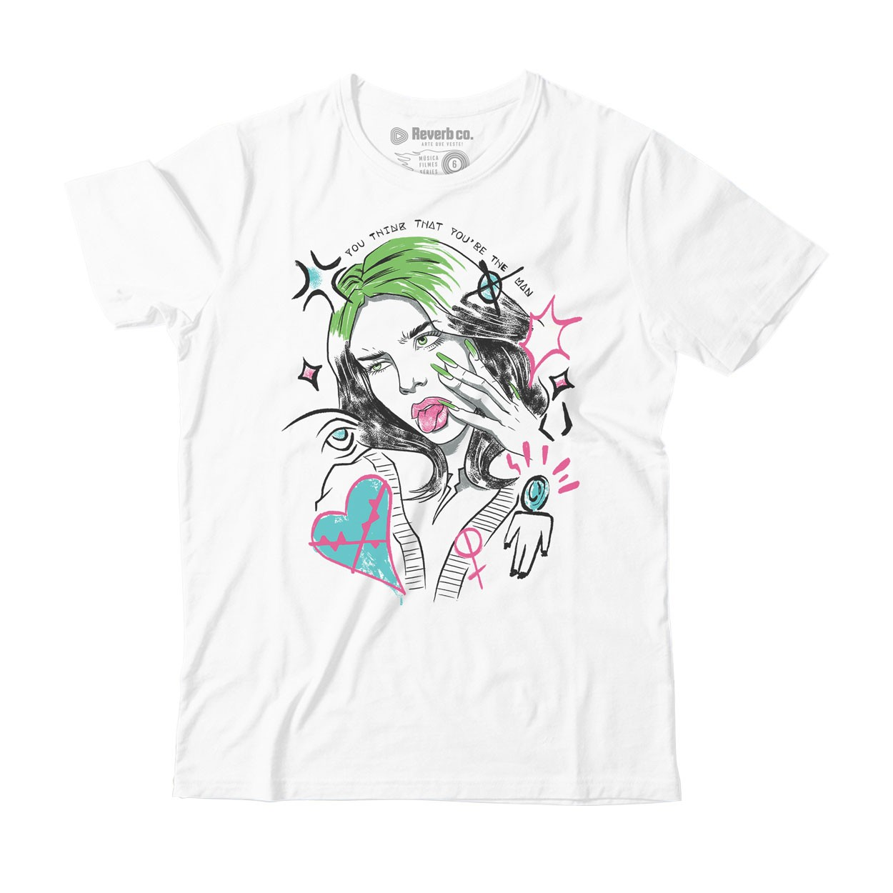 Camiseta Therefore I Am - Billie Eilish - Infantil