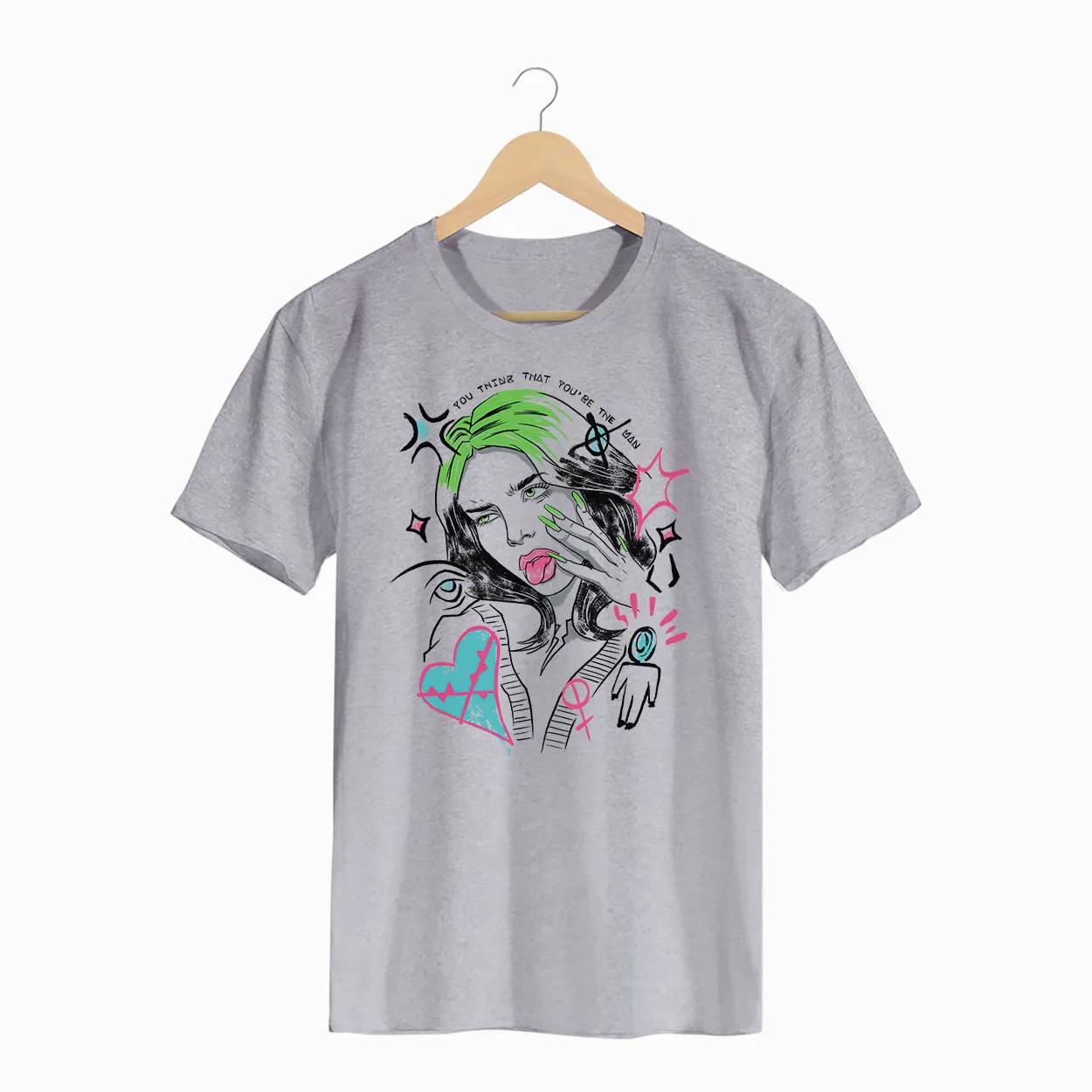Camiseta - Therefore I Am - Billie Eilish - Masculino