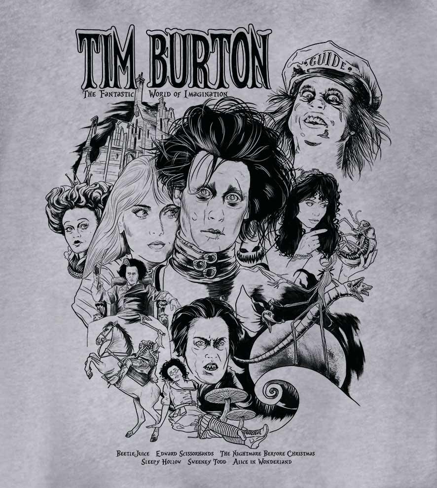 Camiseta Tim Burton - Masculino