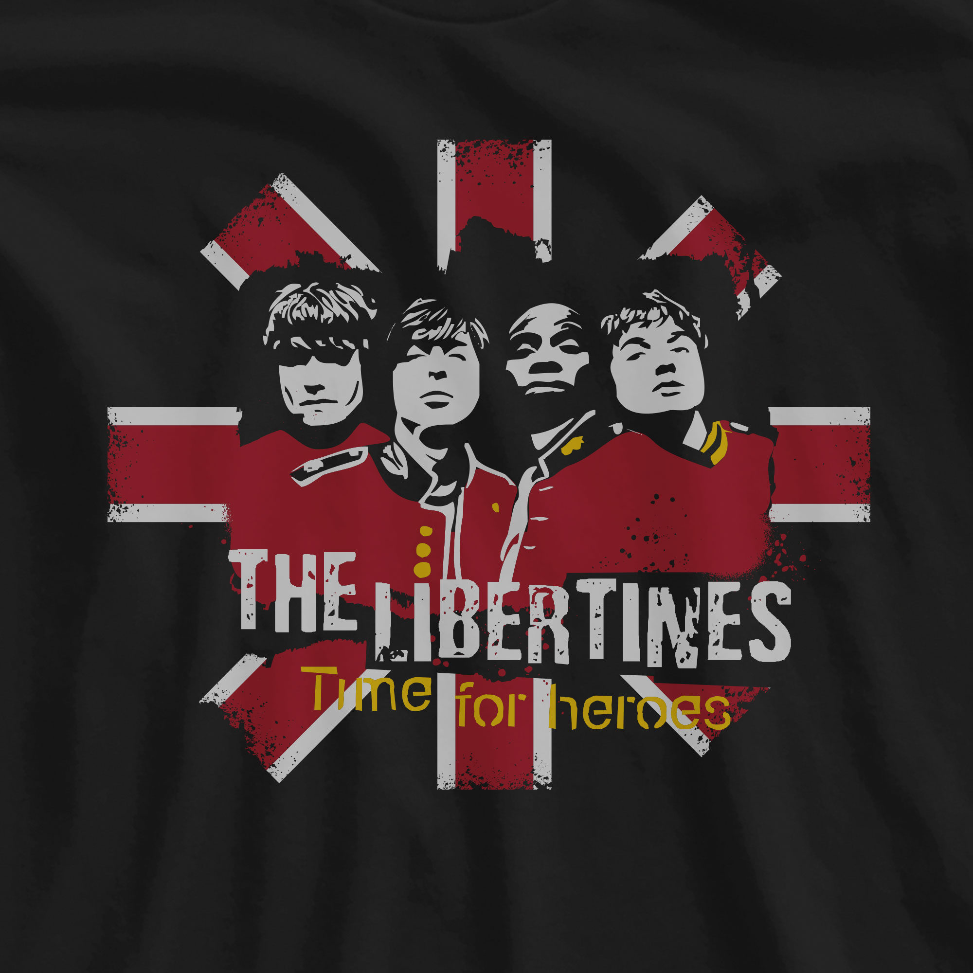 Camiseta Time for Heroes - The Libertines -
