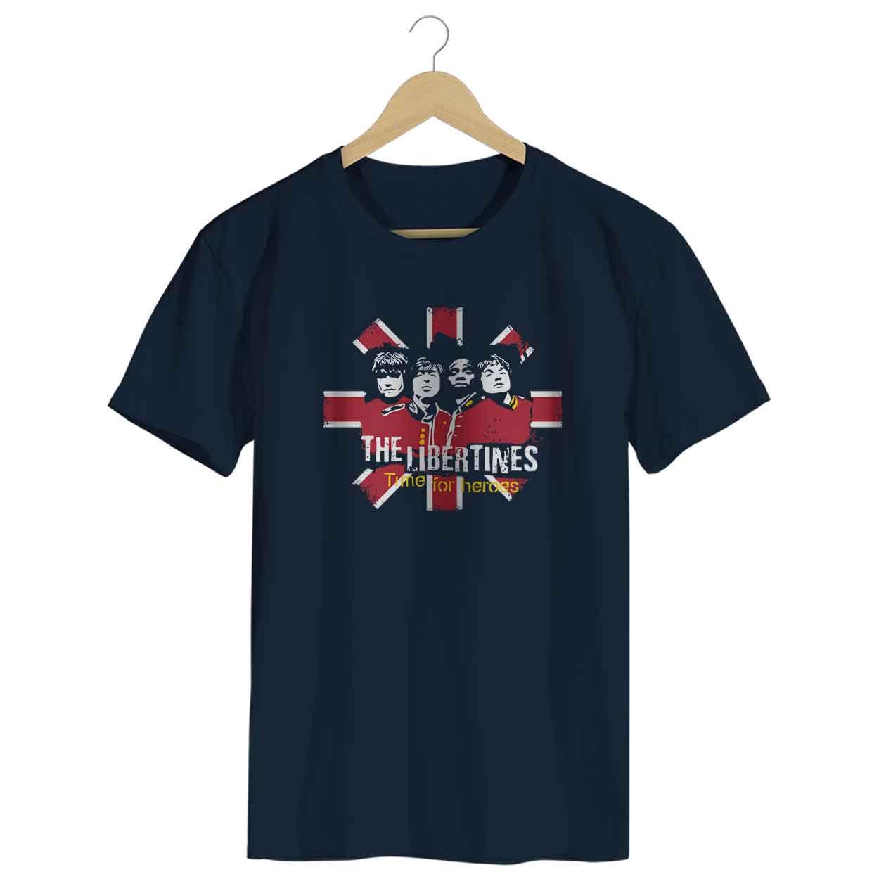 Camiseta - Time for Heroes - The Libertines - Masculino