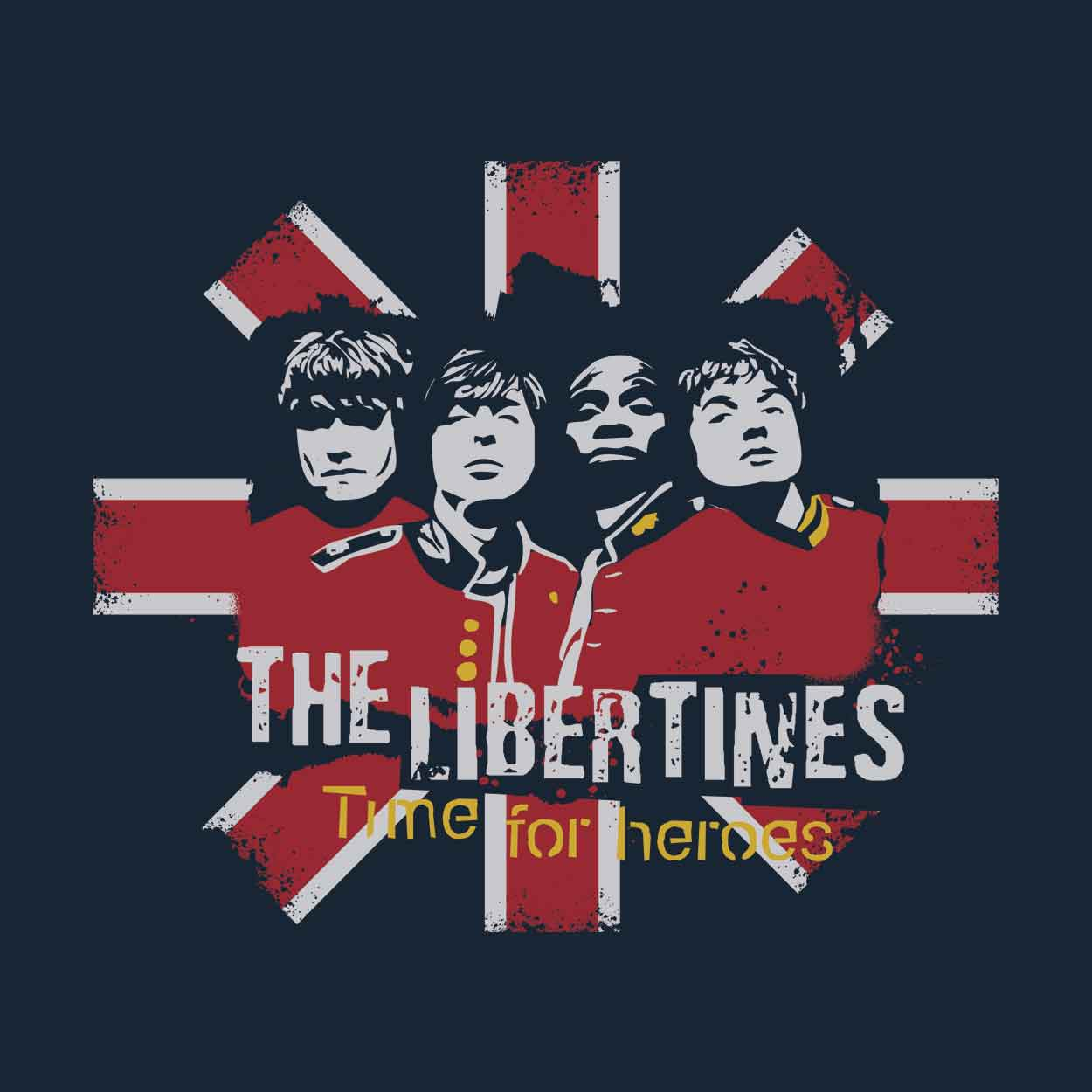 Camiseta - Time for Heroes - The Libertines - Masculino