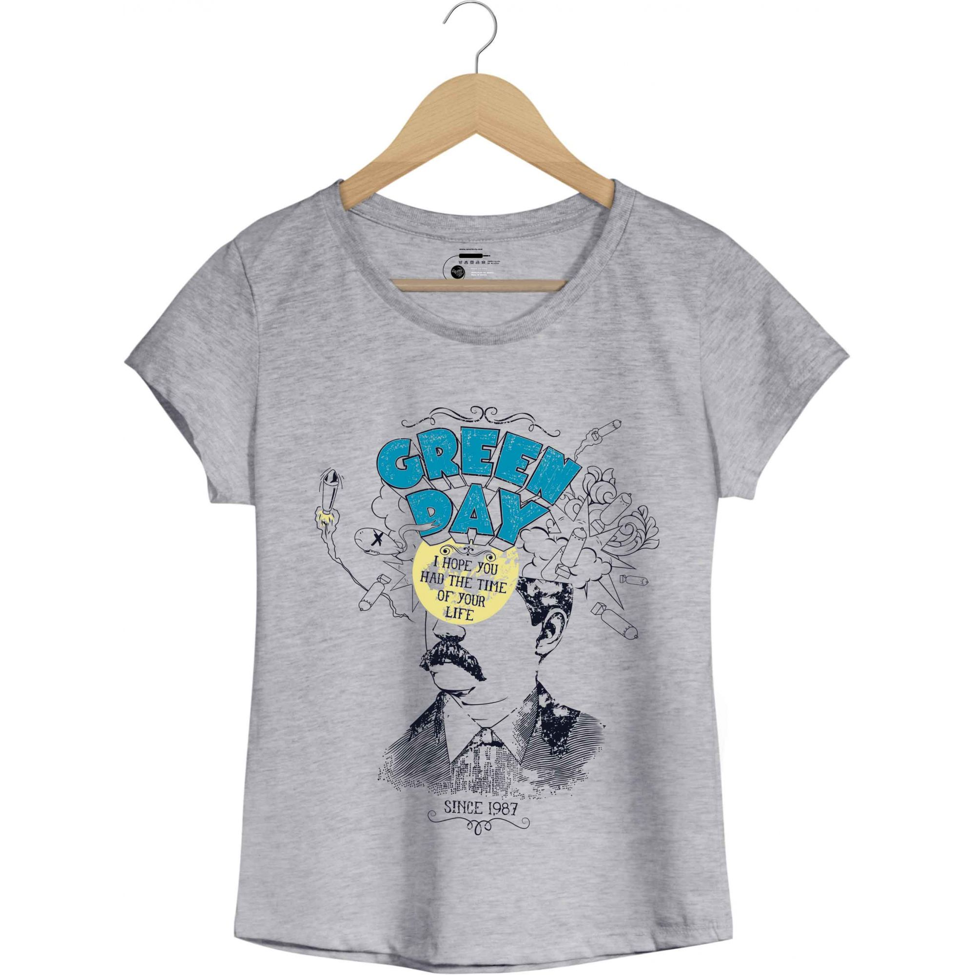 Camiseta Time Of Your Life - Green Day - Feminino
