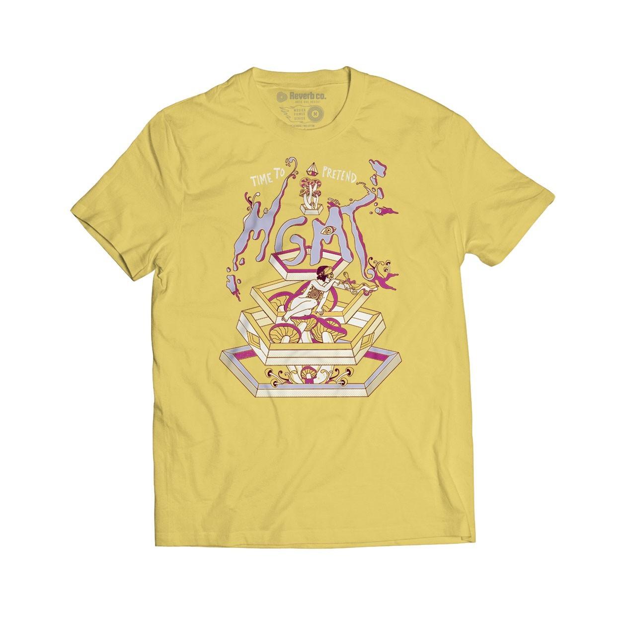Camiseta Time to Pretend - MGMT - Masculino