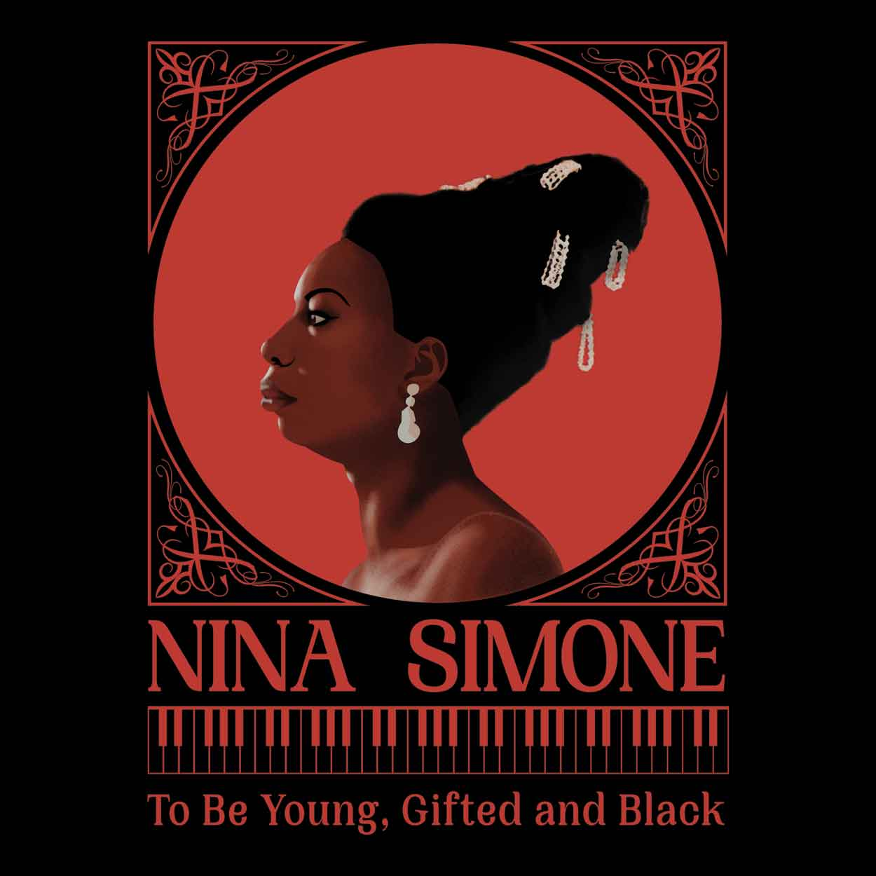 Camiseta - To Be Young, Gifted And Black - Nina Simone - Feminino