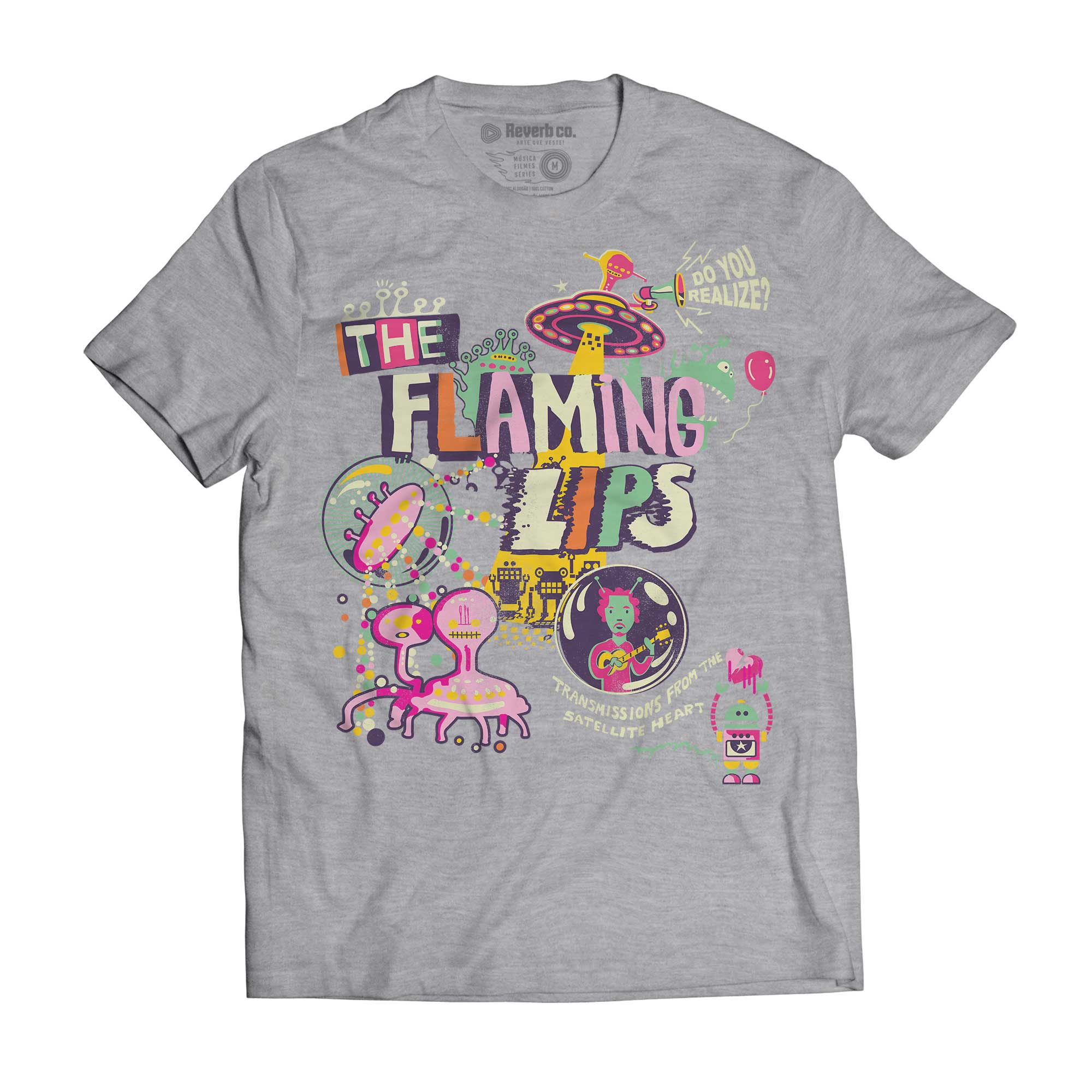 Camiseta Transmissions - The Flaming Lips - Masculino