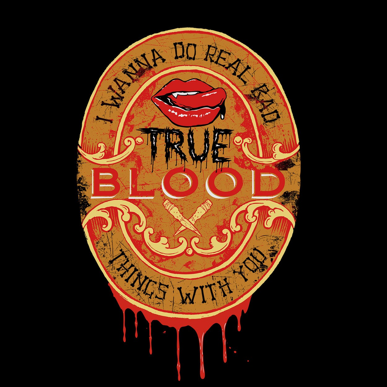 Camiseta True Blood - Feminino