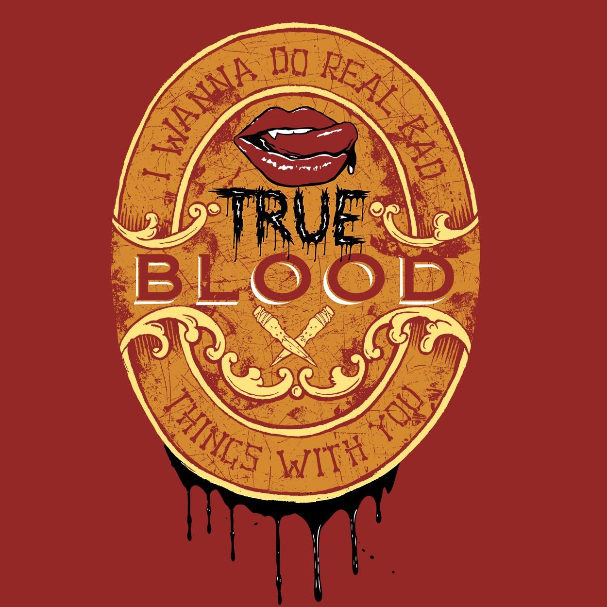 Camiseta True Blood - Masculino