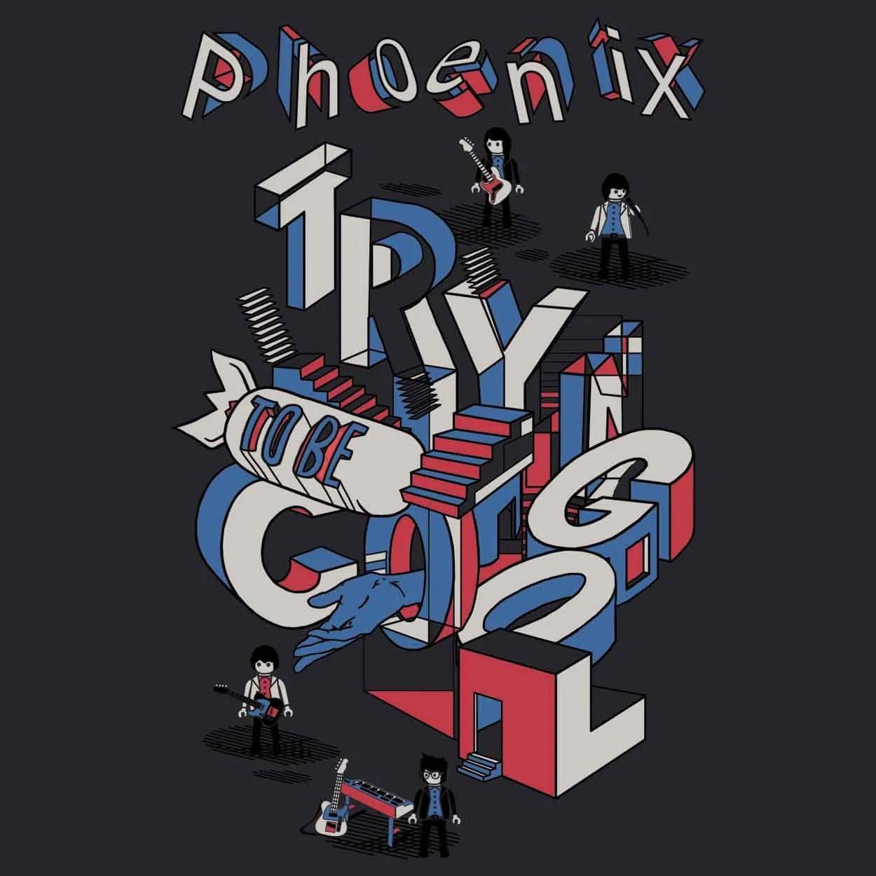Camiseta Trying To Be Cool - Phoenix - Feminino
