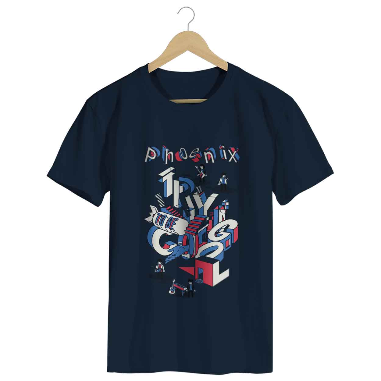 Camiseta Trying To Be Cool - Phoenix - Masculino