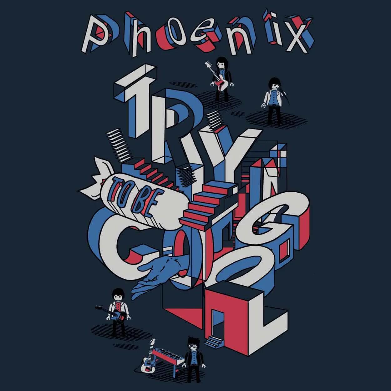 Camiseta Trying To Be Cool - Phoenix - Masculino