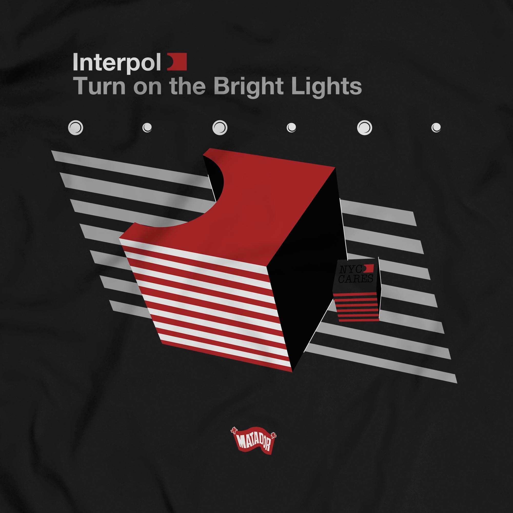 Camiseta Turn On The Bright Lights 1 - Interpol - Masculino
