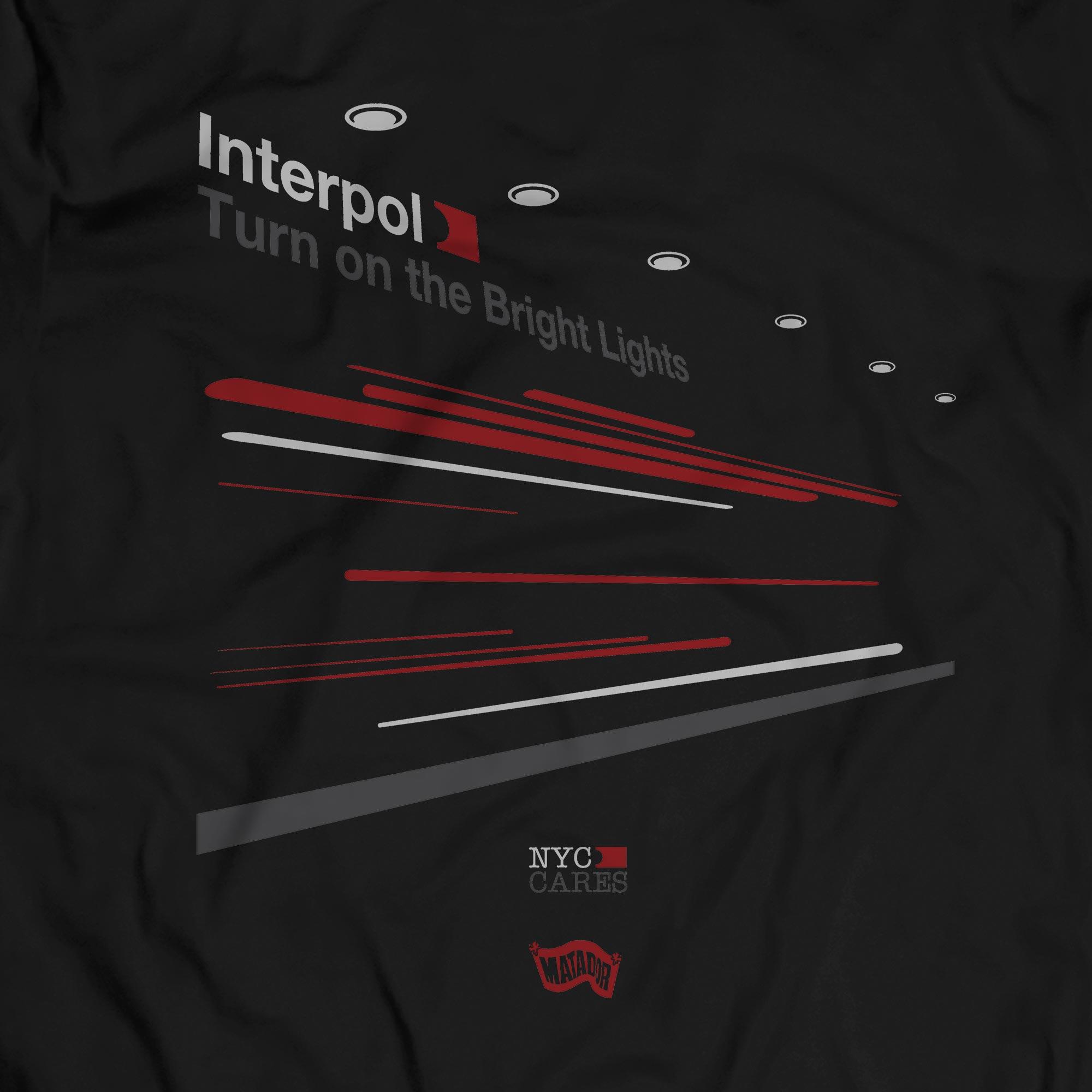 Camiseta Turn On The Bright Lights 3 - Interpol - Masculino