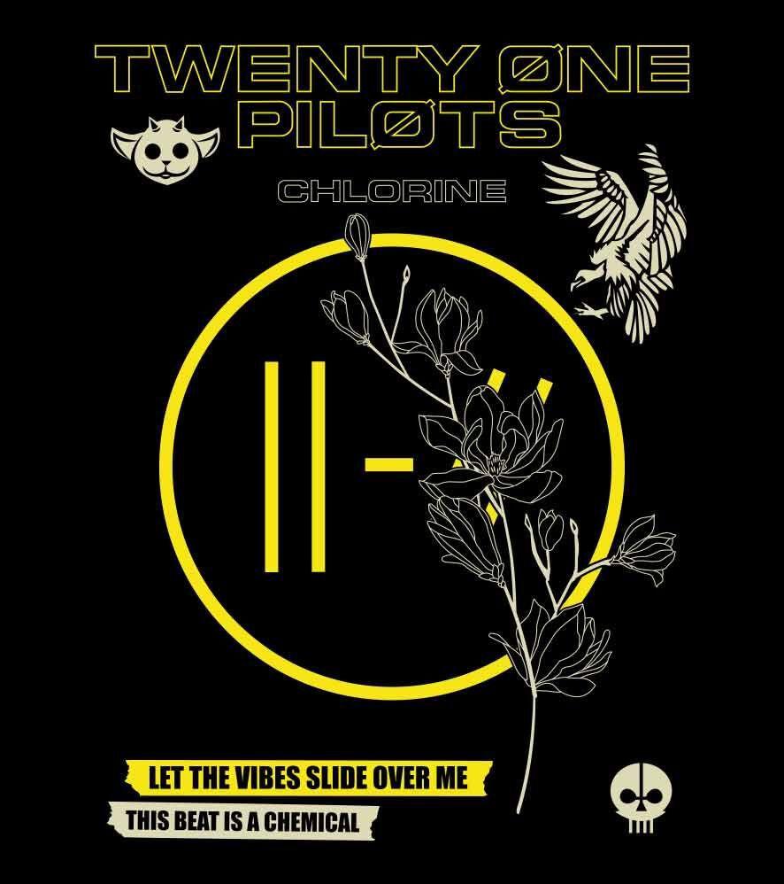 Camiseta - Chlorine  - Twenty One Pilots - Masculino