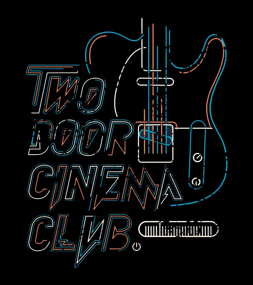 Camiseta - Two Door Cinema Club - Feminino