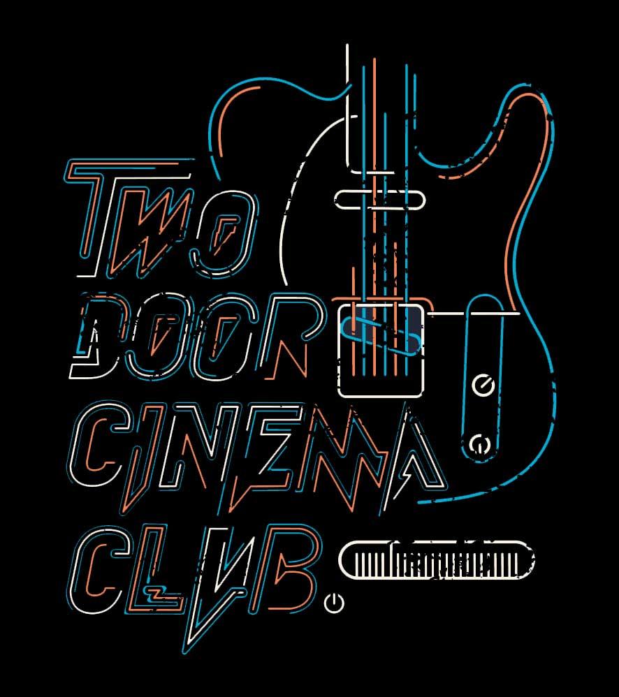 Camiseta Two Door Cinema Club - Feminino