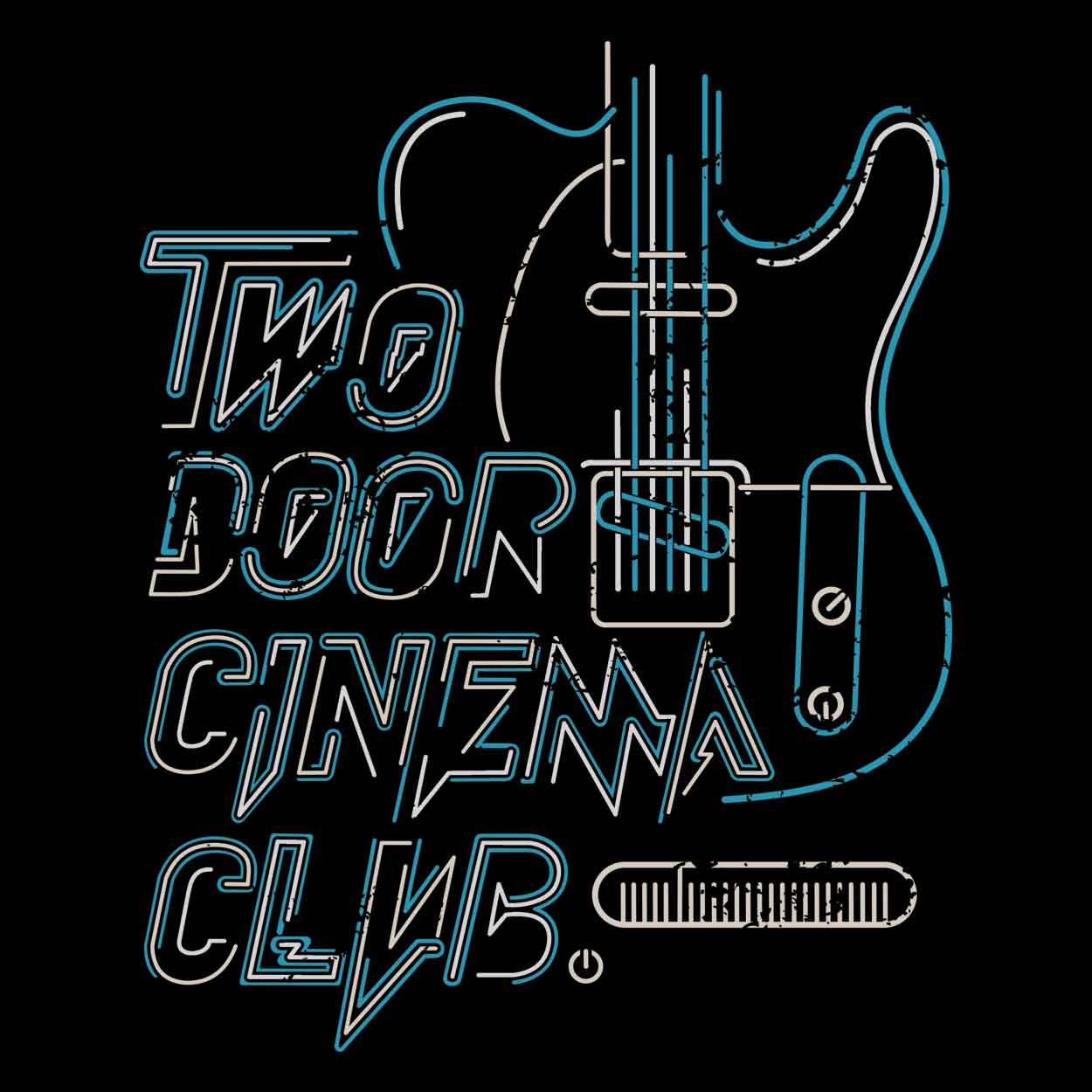 Camiseta Two Door Cinema Club - Masculino