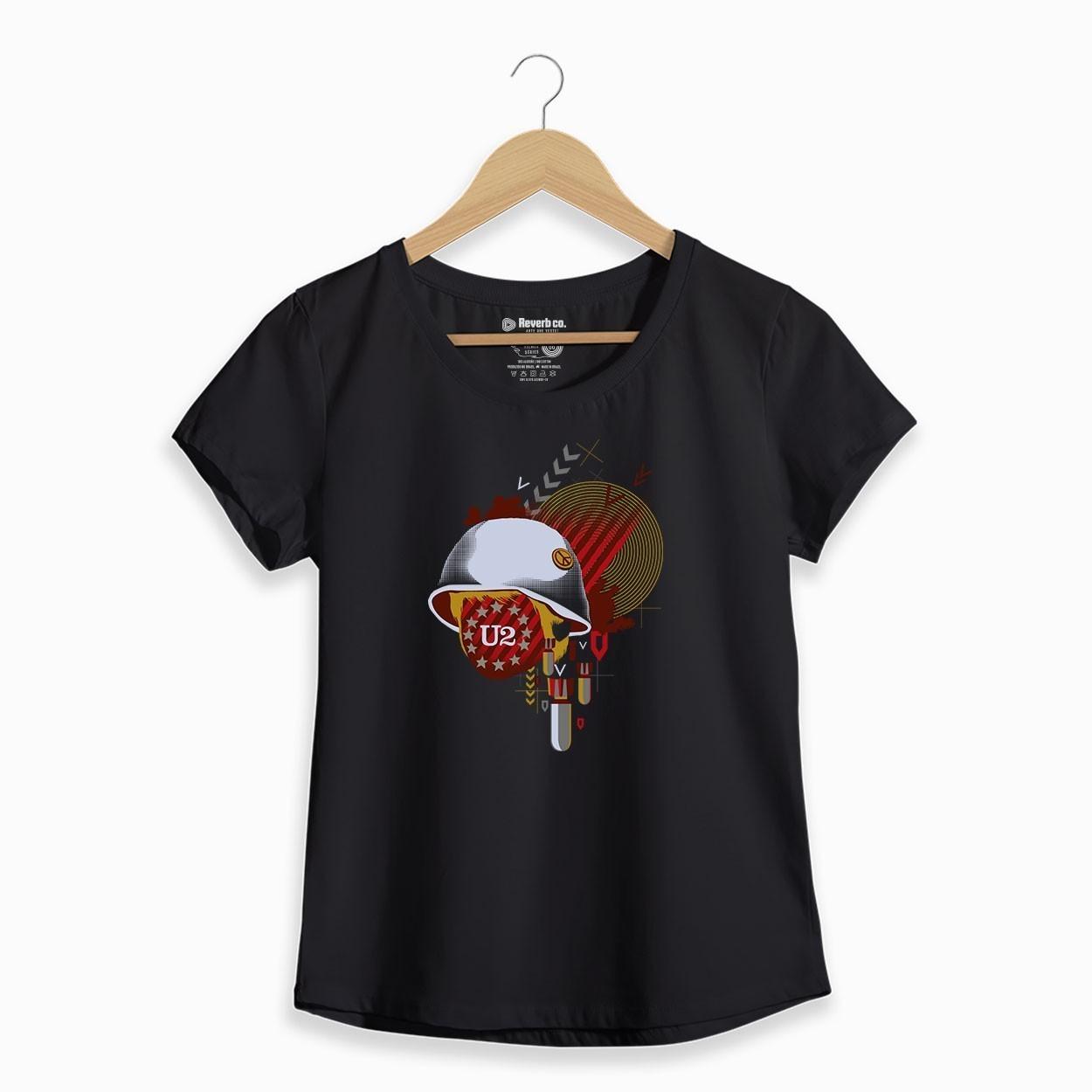 Camiseta U2 - Feminino
