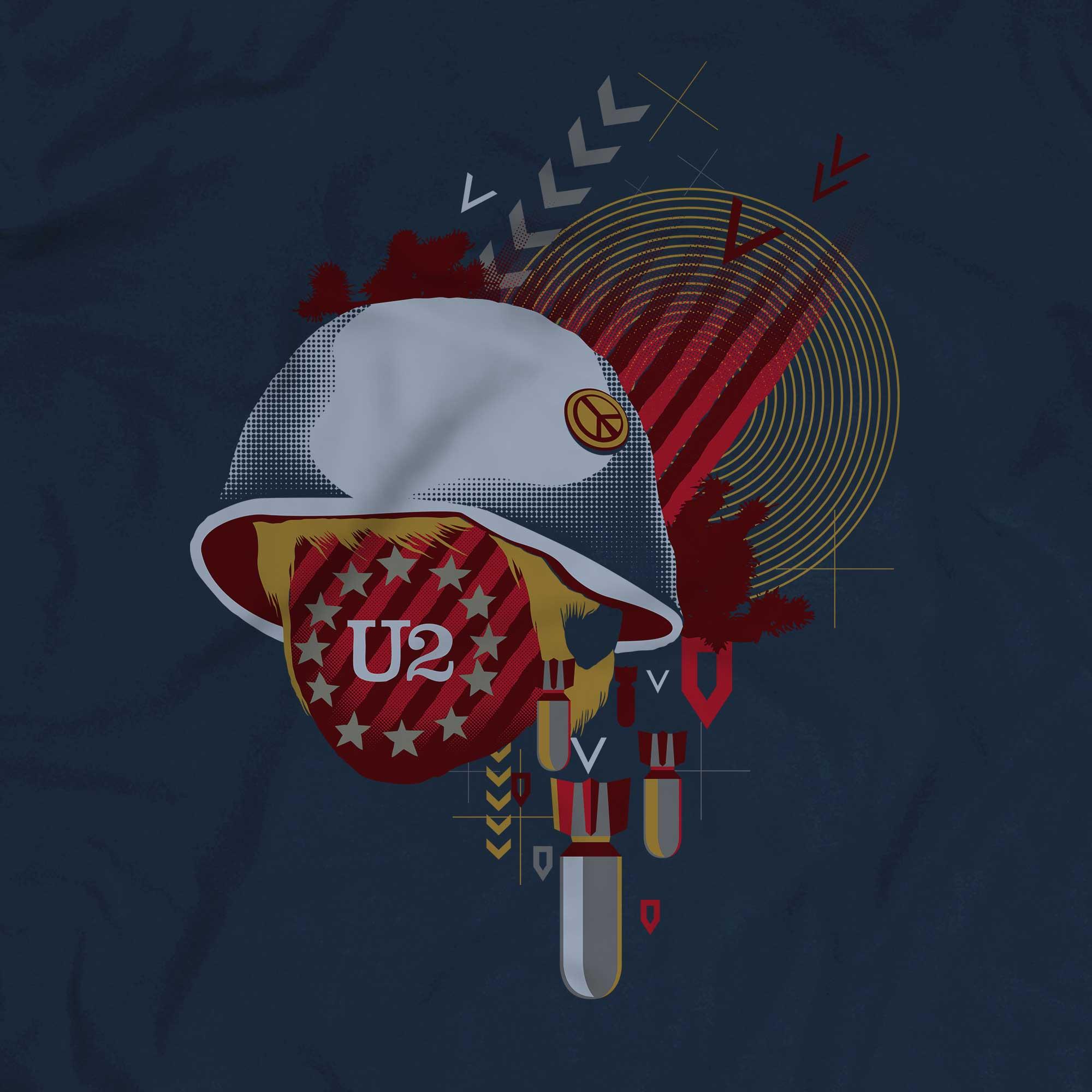 Camiseta U2 - Masculino