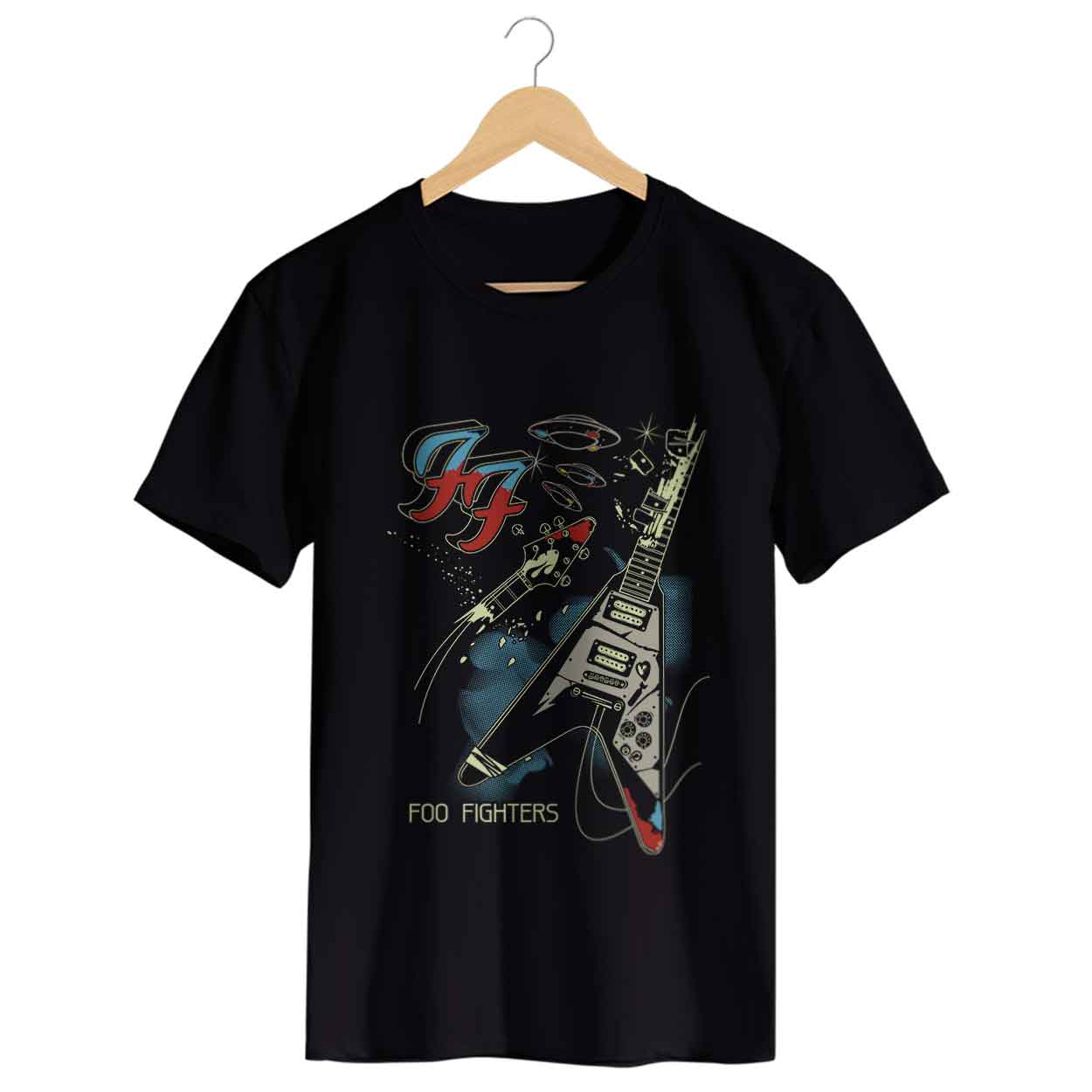 Camiseta - Um - Foo Fighters - Masculino