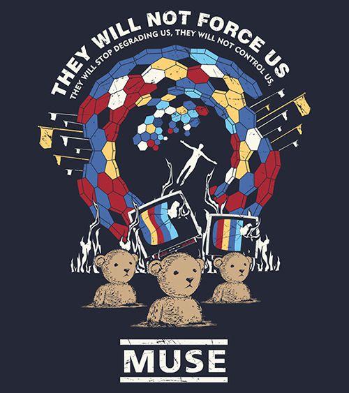 Camiseta - Uprising - Muse - Masculino