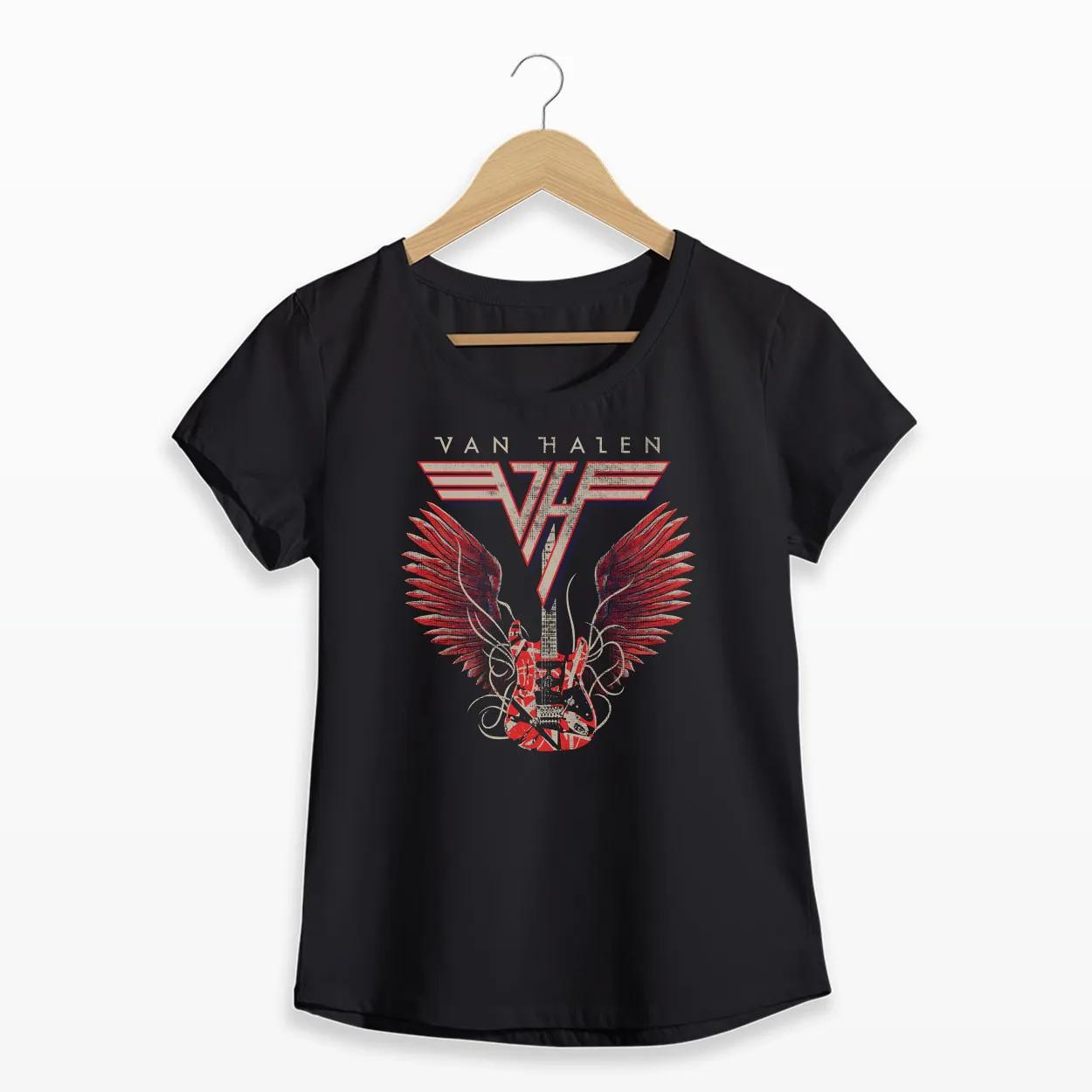 Camiseta - Van Halen - Feminino