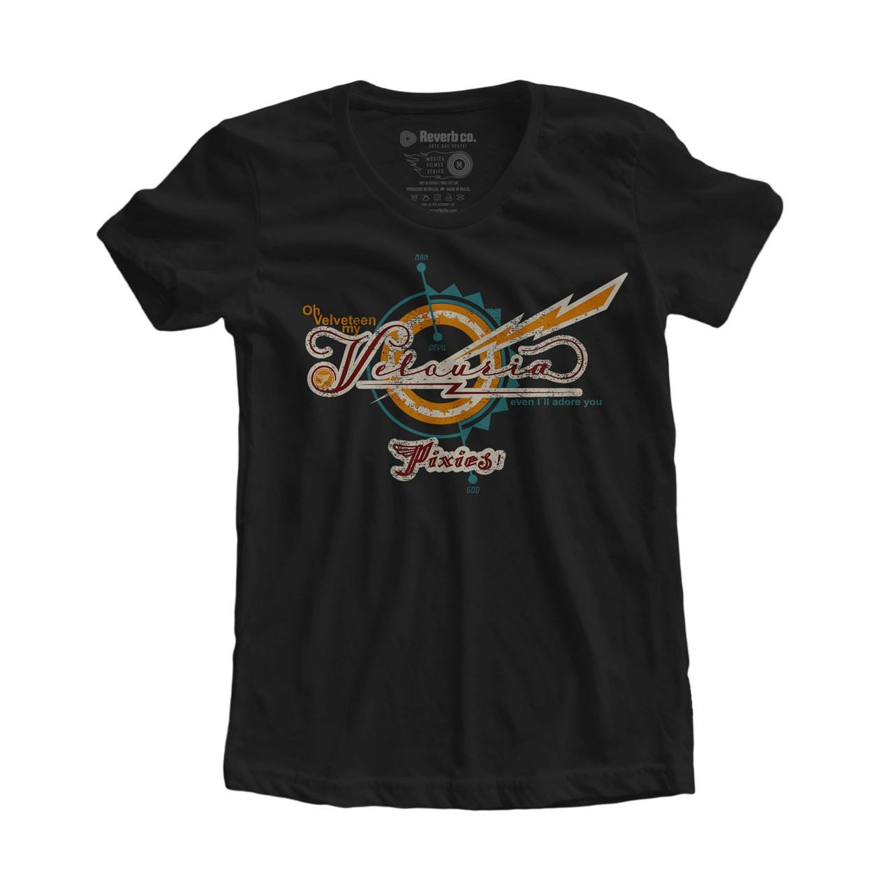 Camiseta Velouria - Pixies - Feminino
