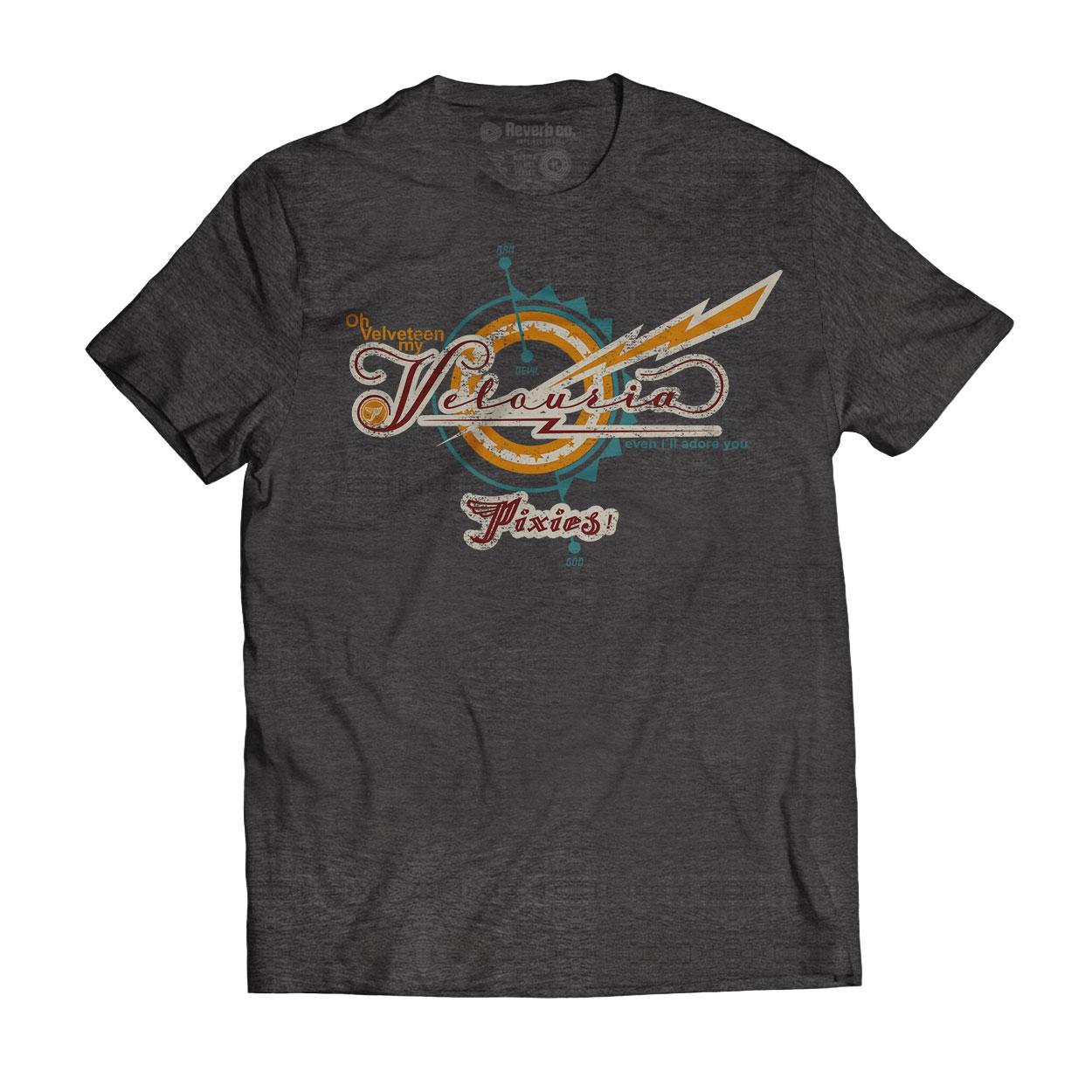 Camiseta Velouria - Pixies - Masculino