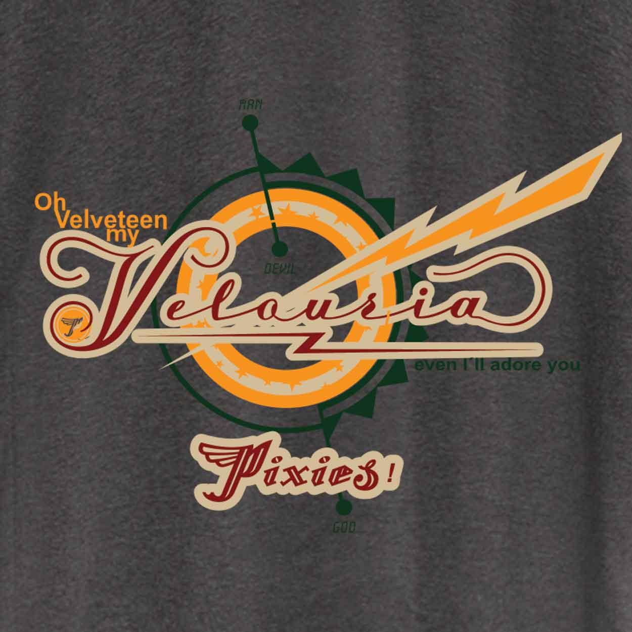 Camiseta - Velouria - Pixies - Masculino