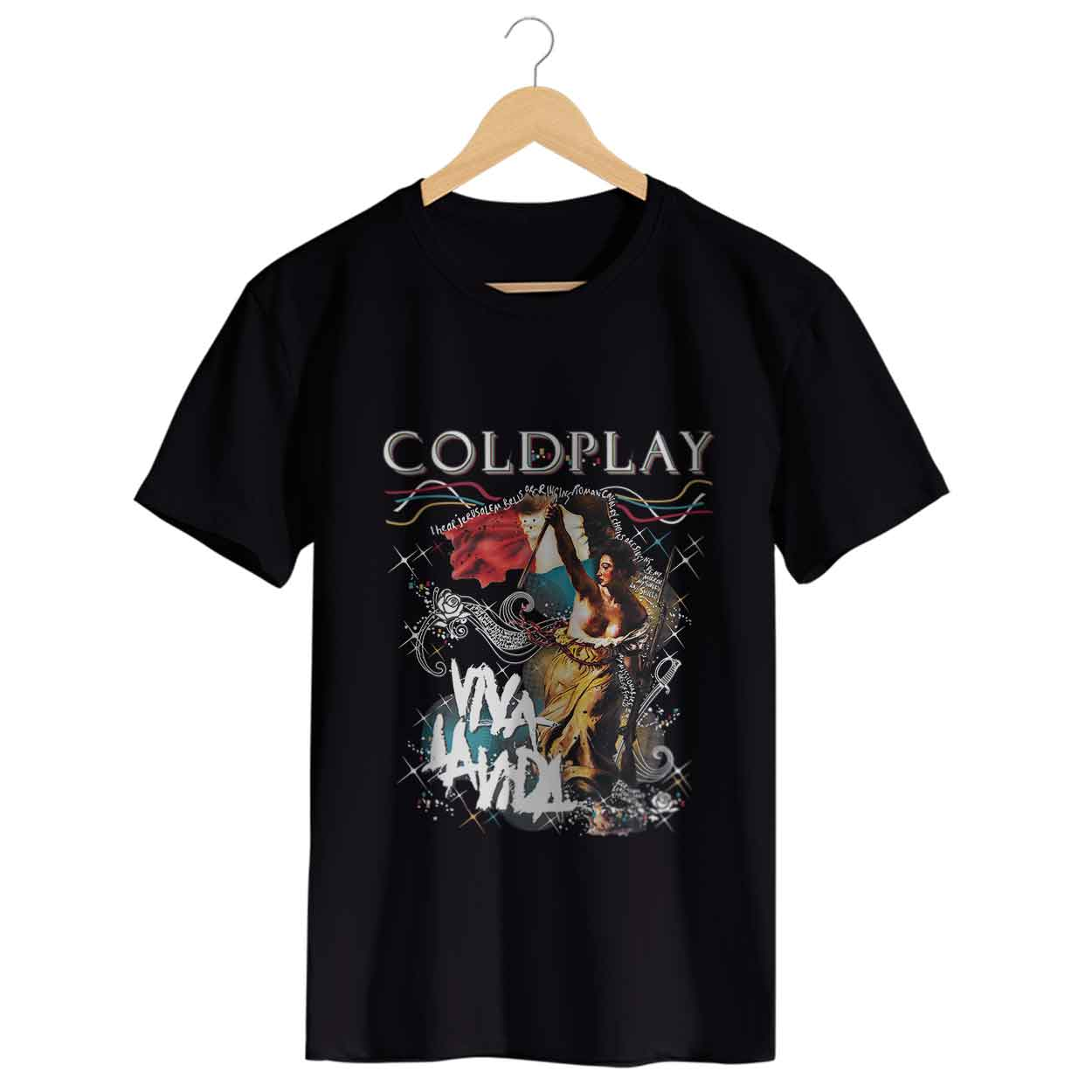 Camiseta - Viva La Vida - Coldplay - Masculino