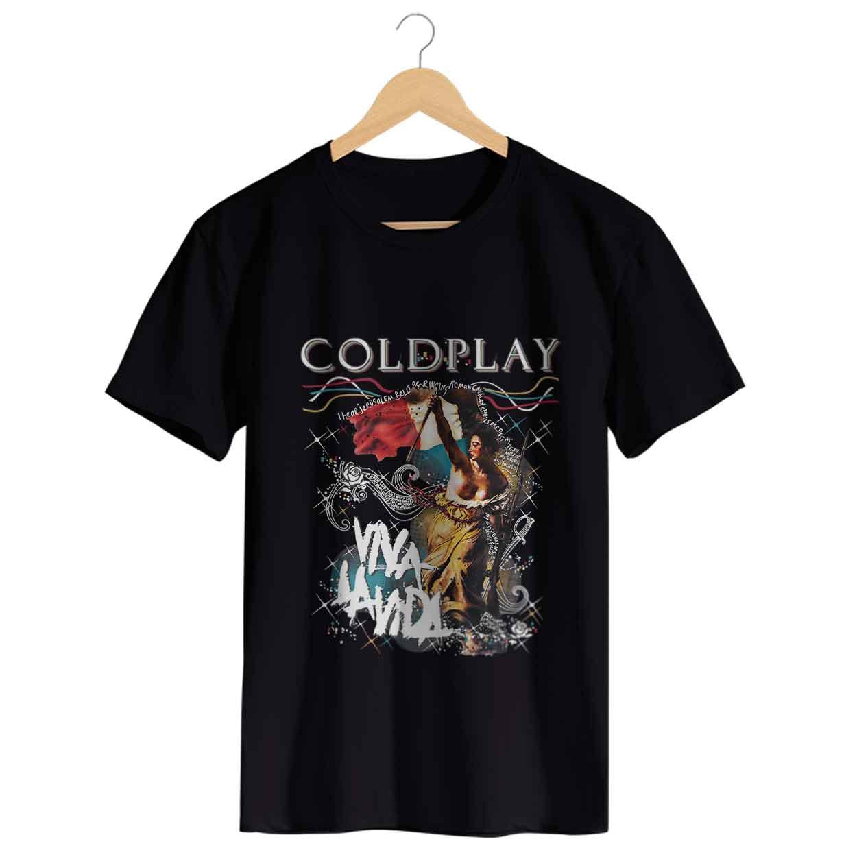 Camiseta Viva La Vida - Coldplay - Masculino
