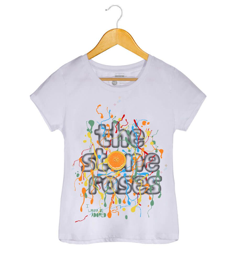 Camiseta -  Wanna Be Adored - The Stone Roses - Feminino