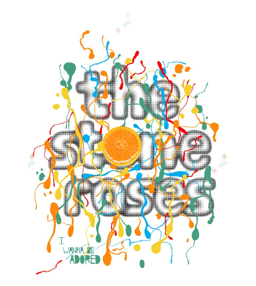 Camiseta -  Wanna Be Adored - The Stone Roses - Feminino