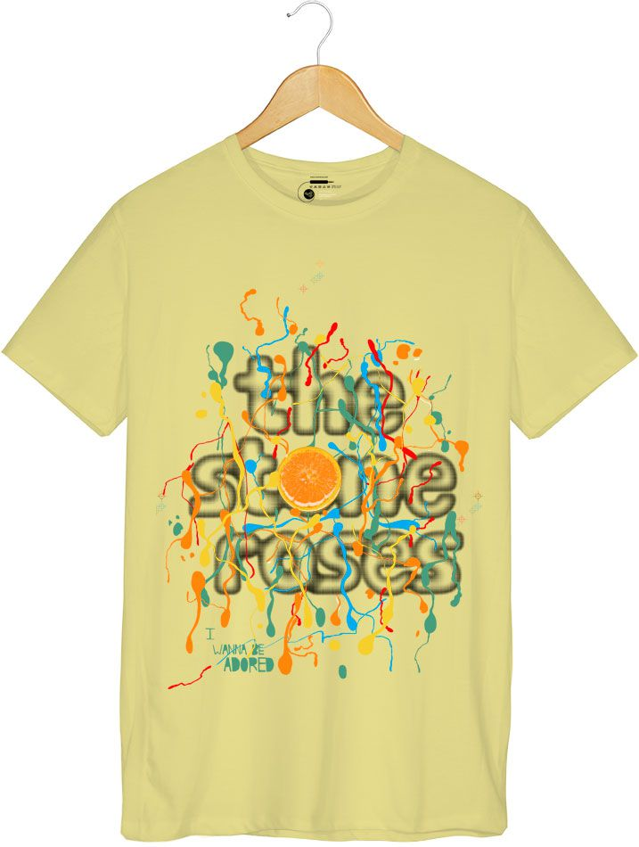 Camiseta -  Wanna Be Adored - The Stone Roses - Masculino