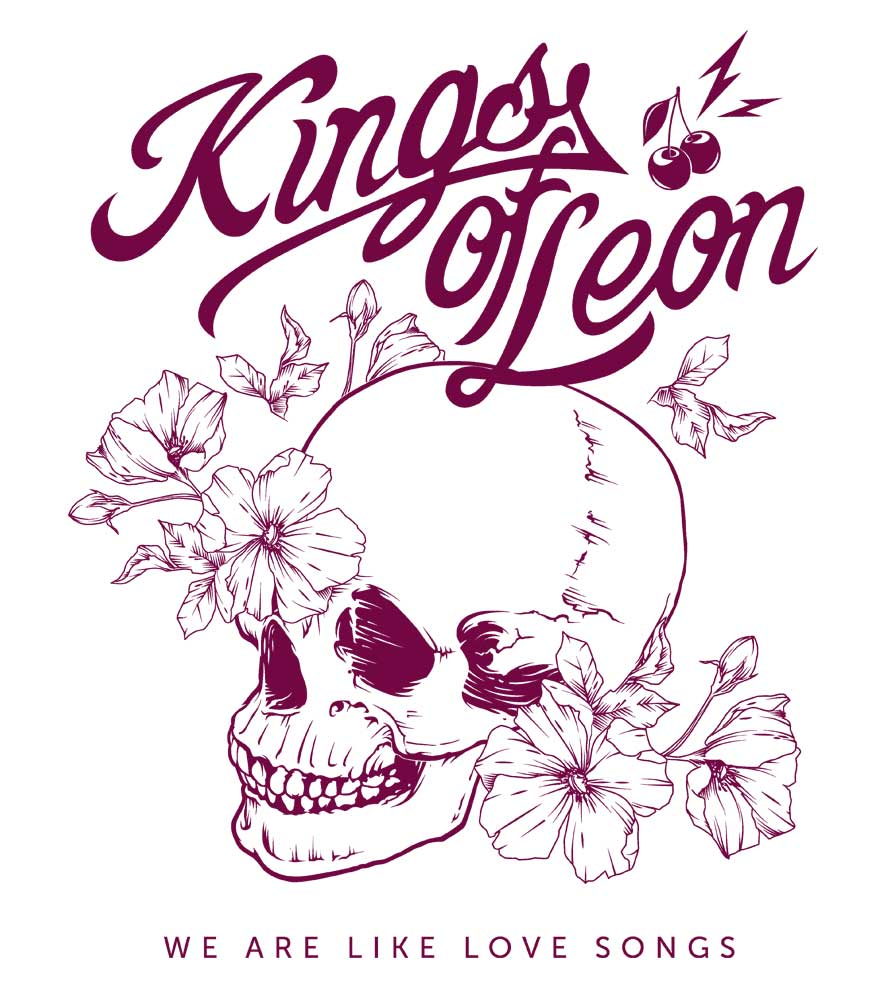 Camiseta - We Are Like Love Songs - Kings of Leon - Masculino