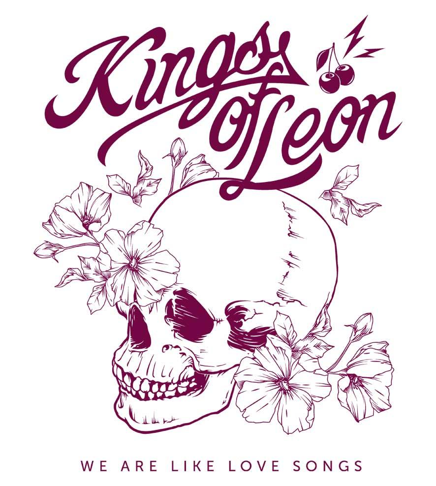 Camiseta We Are Like Love Songs - Kings of Leon - Masculino