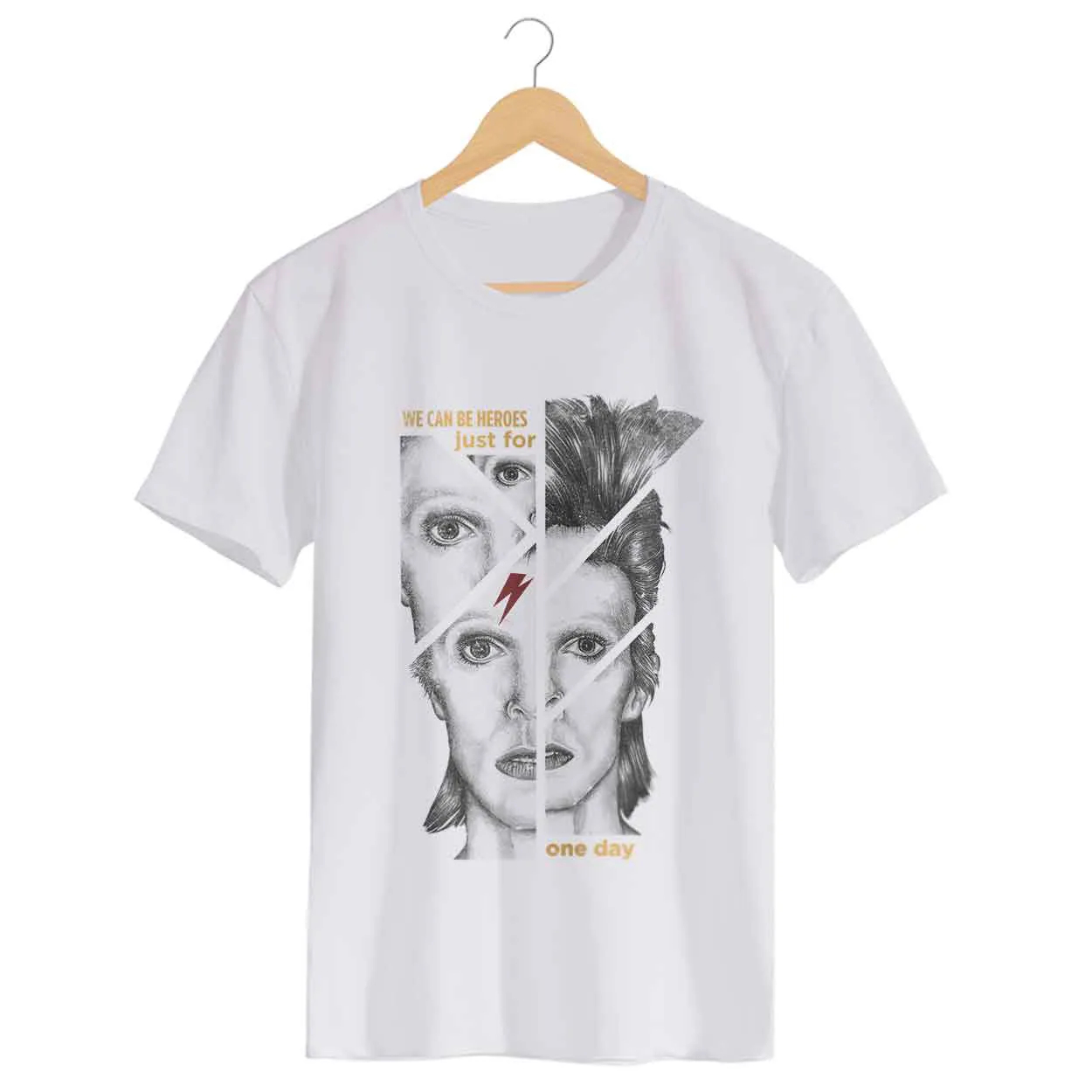 Camiseta - We Can Be Heroes - David Bowie