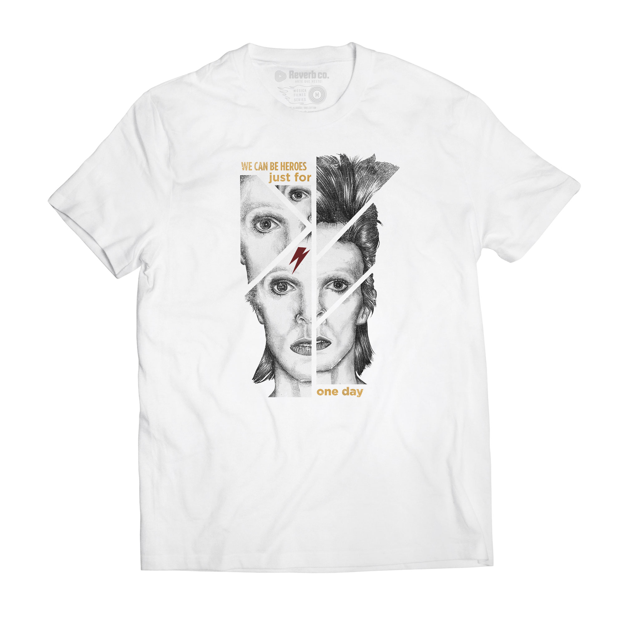 Camiseta We Can Be Heroes - David Bowie