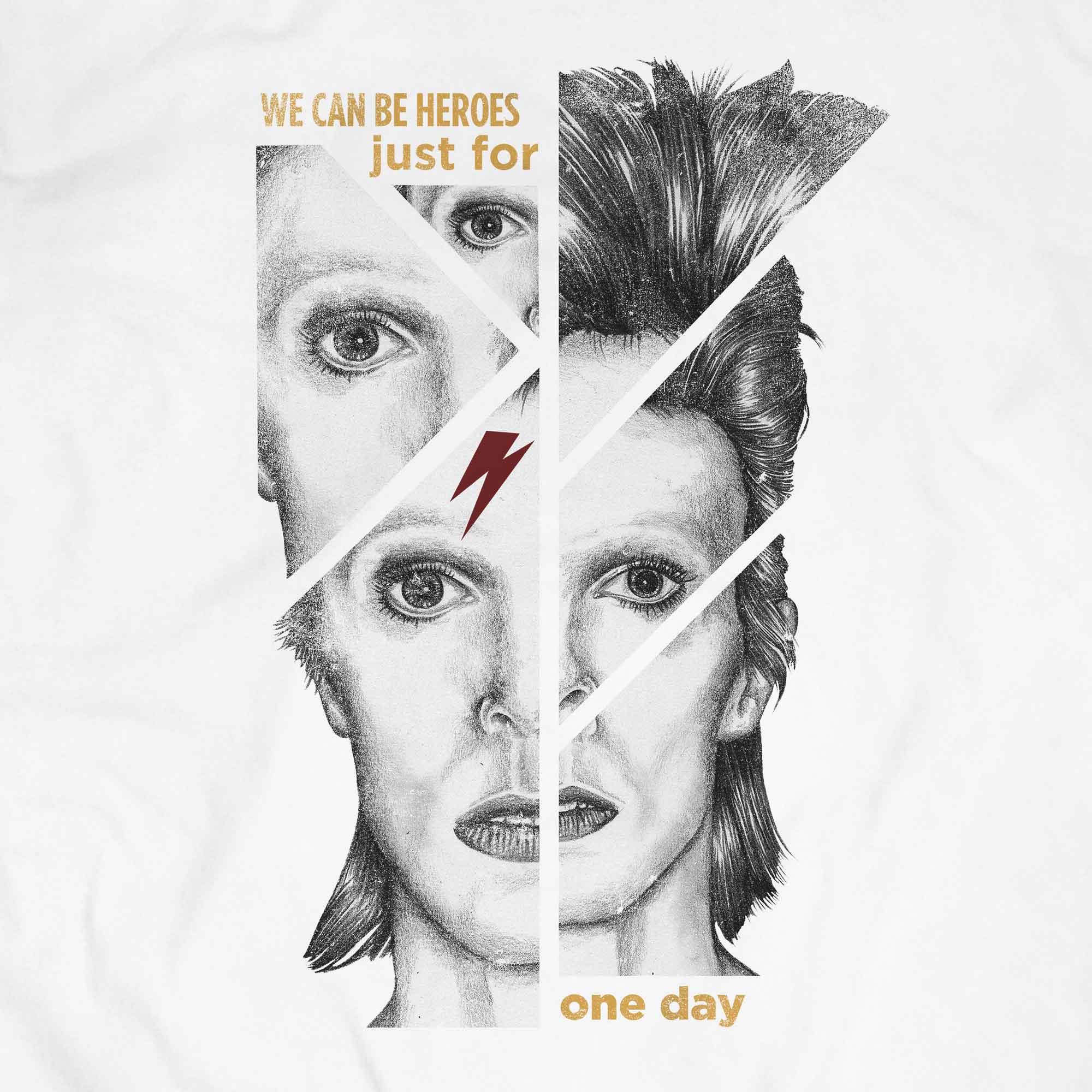 Camiseta We Can Be Heroes - David Bowie