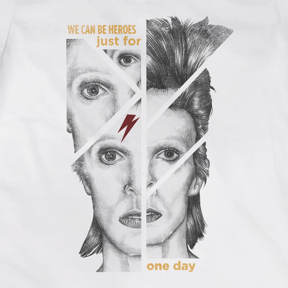 Camiseta We Can Be Heroes - David Bowie - Feminino