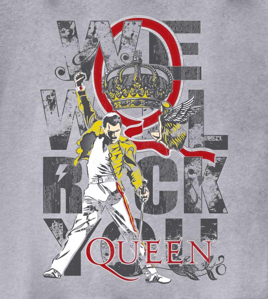 Camiseta - We Will Rock You - Queen - Feminino